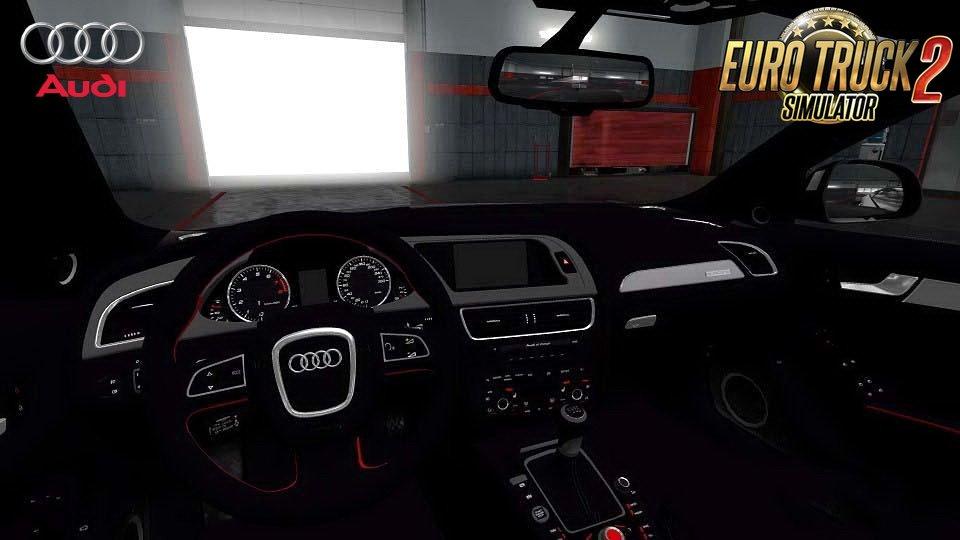 Audi A4 Avant 2010 + Interior v1.0 (1.30.x)
