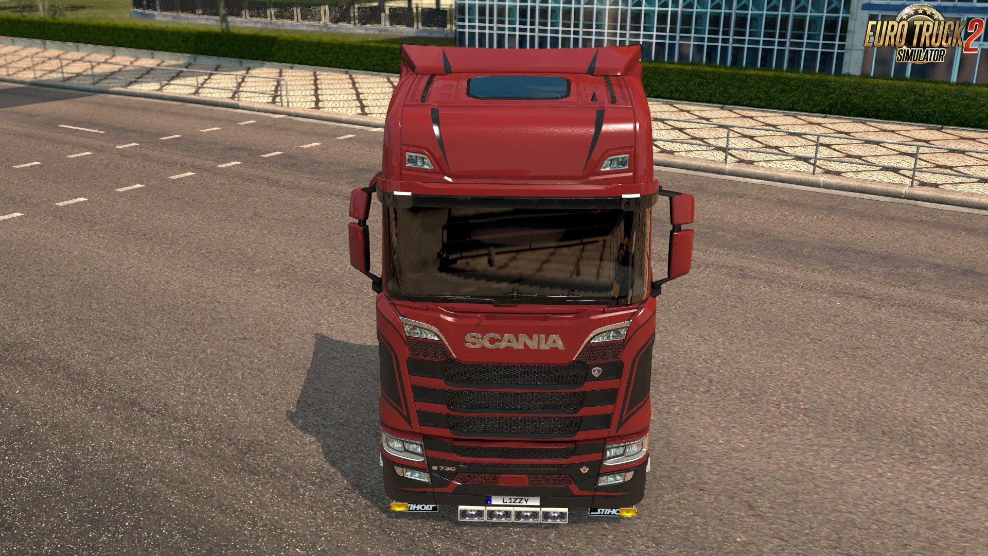 Scania S - Grace Paintjob 1.0.2 by l1zzy