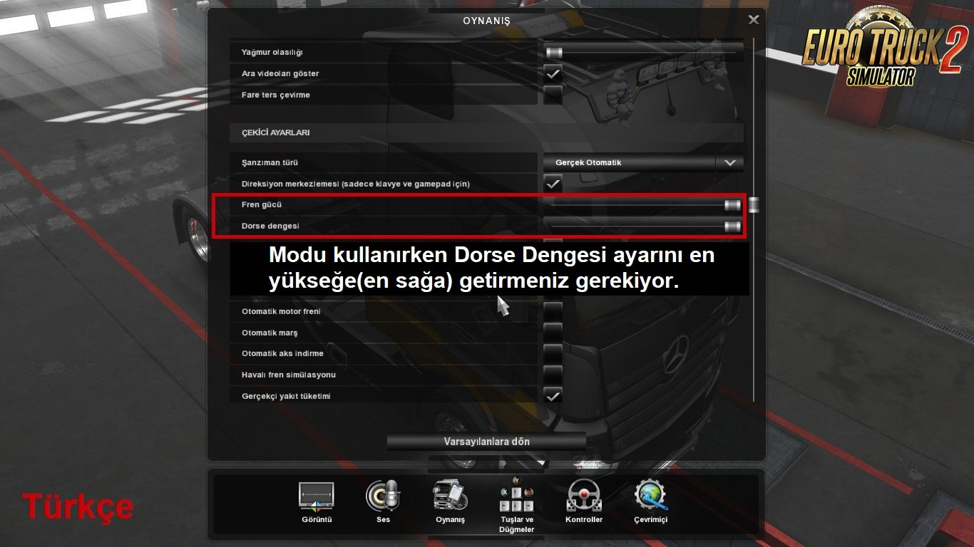 Realistic Truck Physics v5.4 by Frkn64