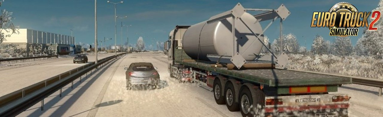 Exclusive Winter Mod v1.0 for Ets2