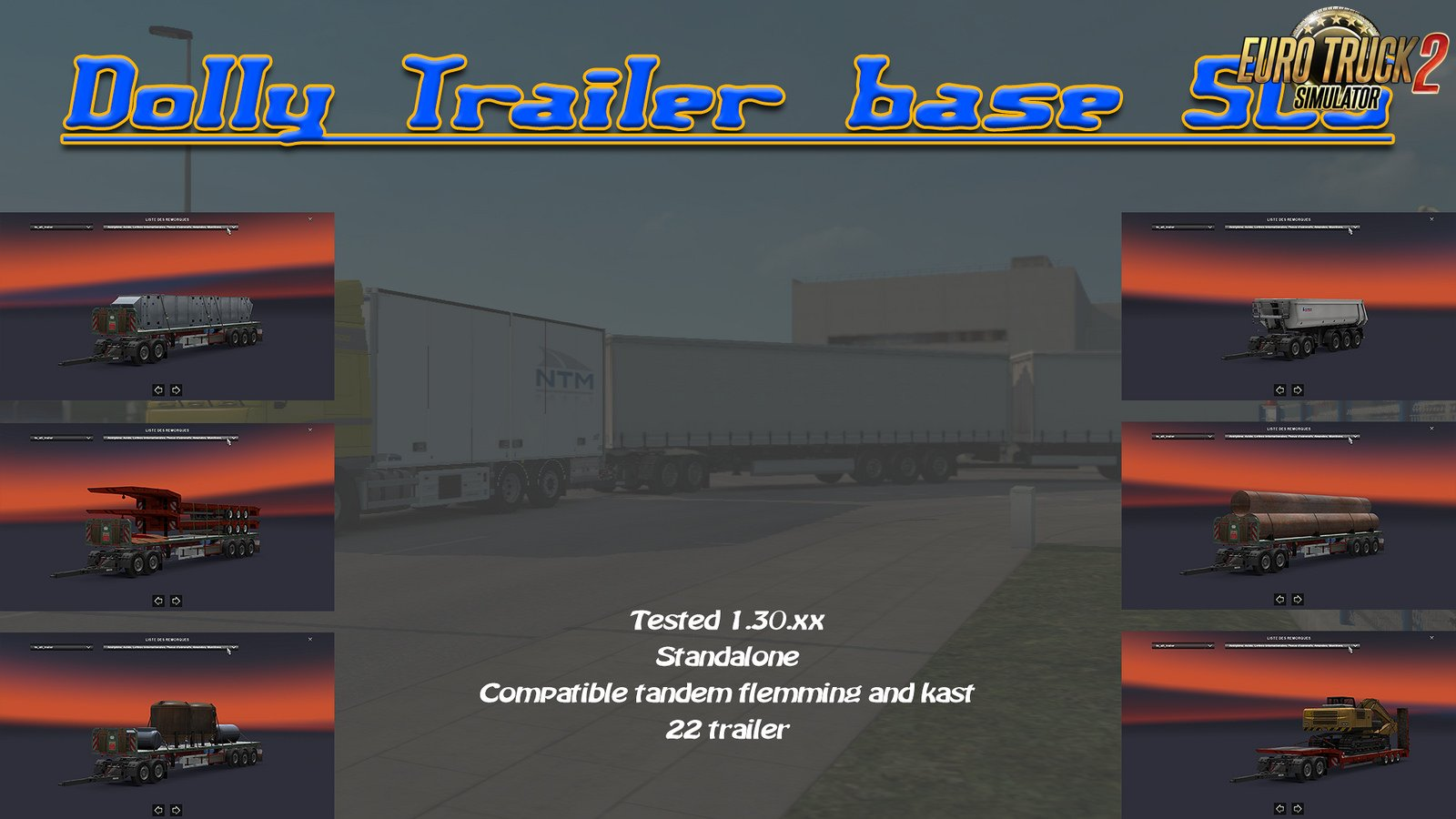 Trailer SCS With Dolly [1.30.x]