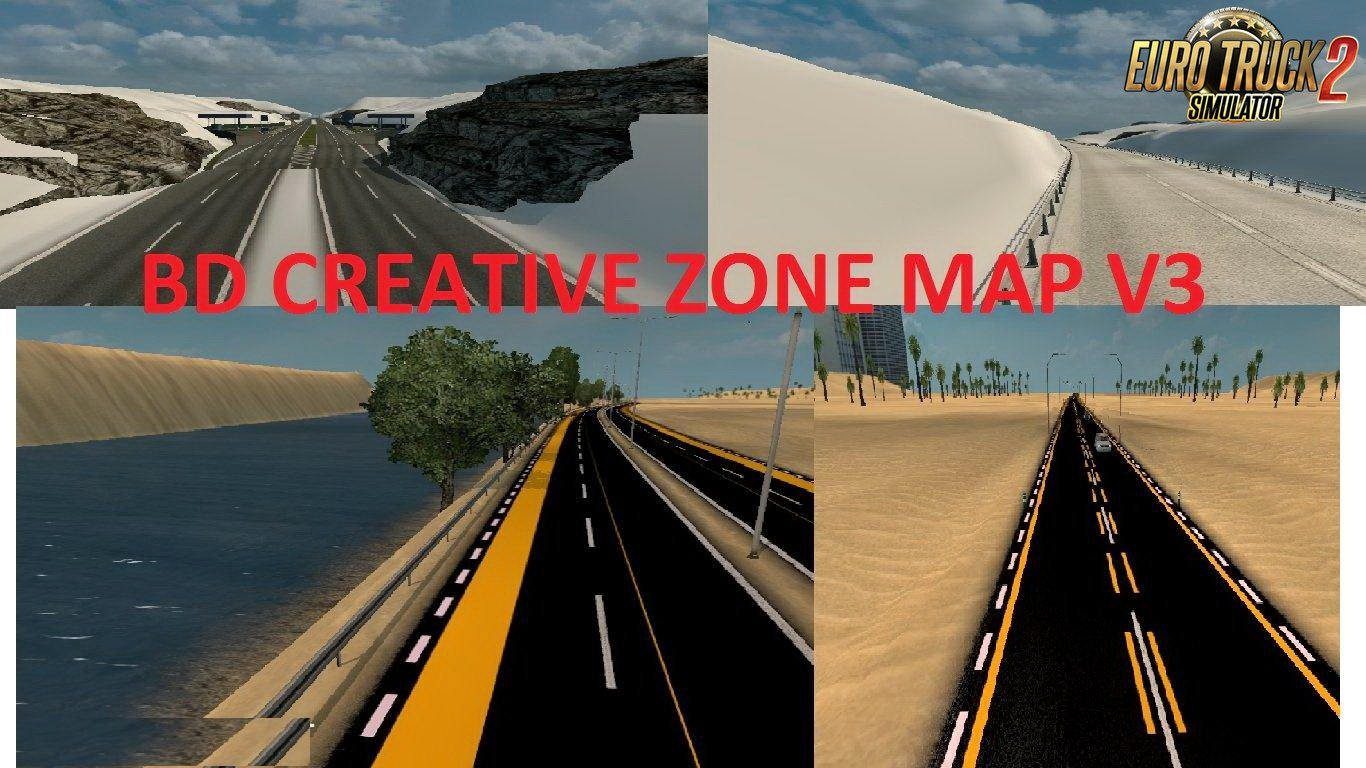 BD Creative Zone Map v3.0 (1.30.x)