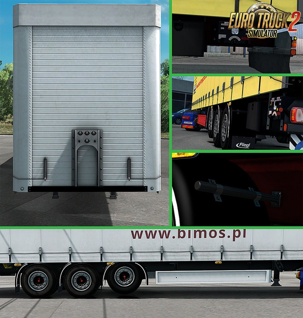 Fliegl SDS350 Mega - Rework v1.9 for Ets2