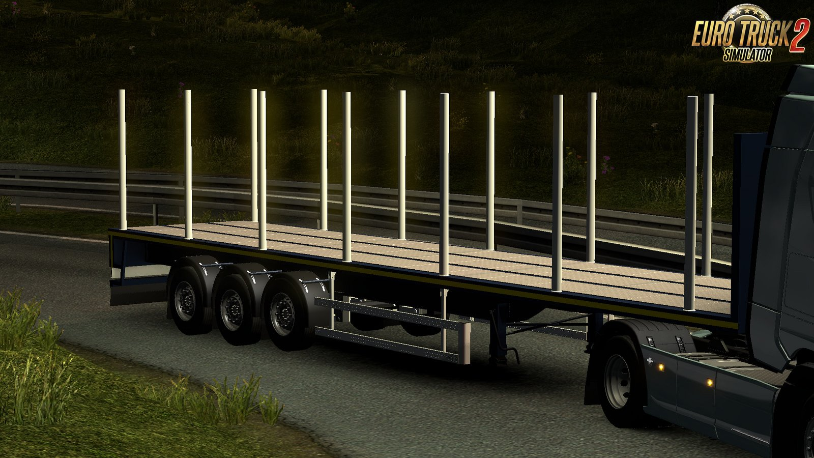 Flatbed ROYEN Trailer
