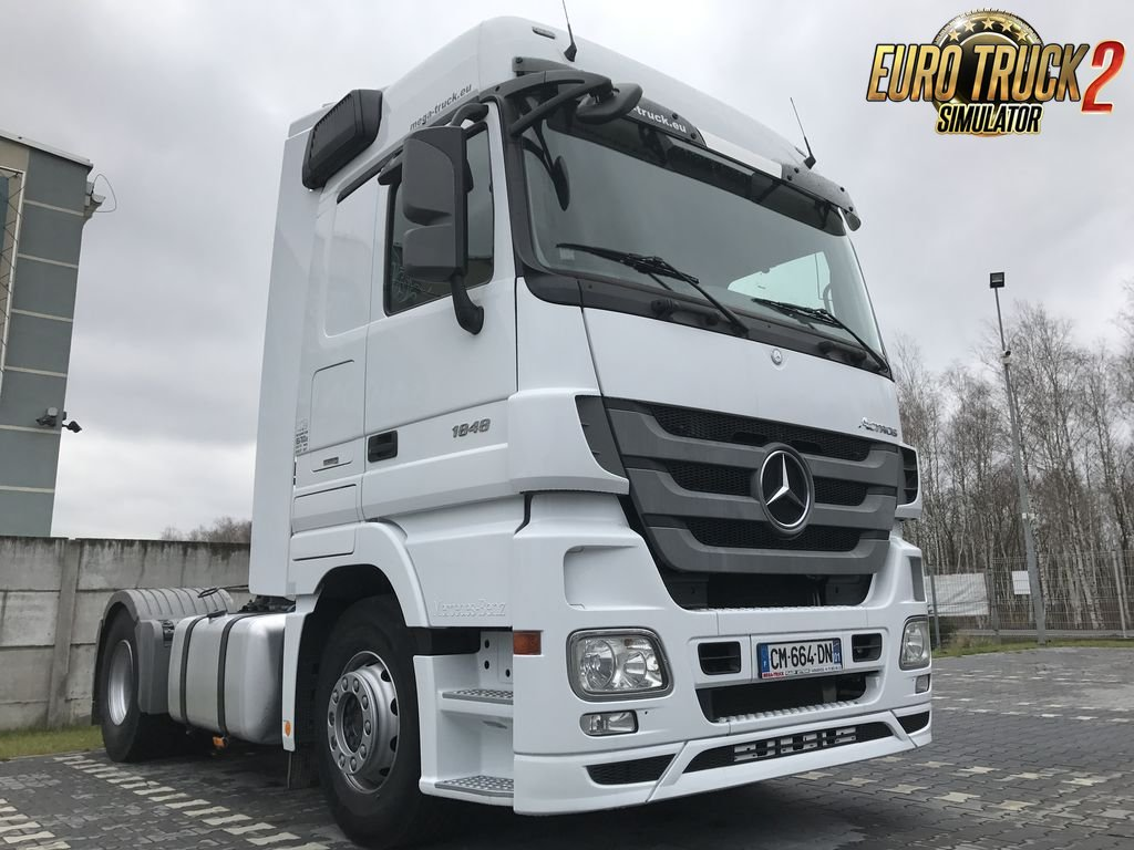 Mercedes Actros OM470 Engine Sound v2.0 for Ets2