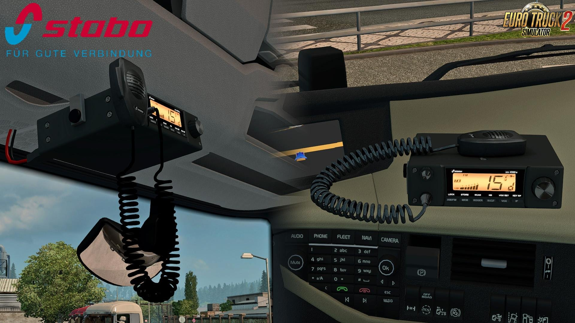 Stabo XM4060E CB Radio v1.4 for Ets2