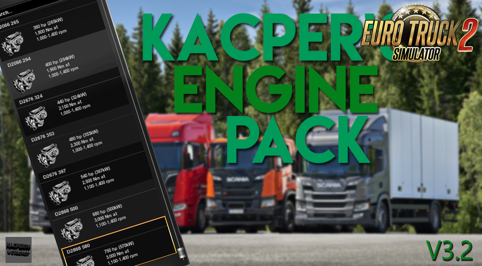 Kacper's Engine Mega Pack v3.2 [1.30.x]