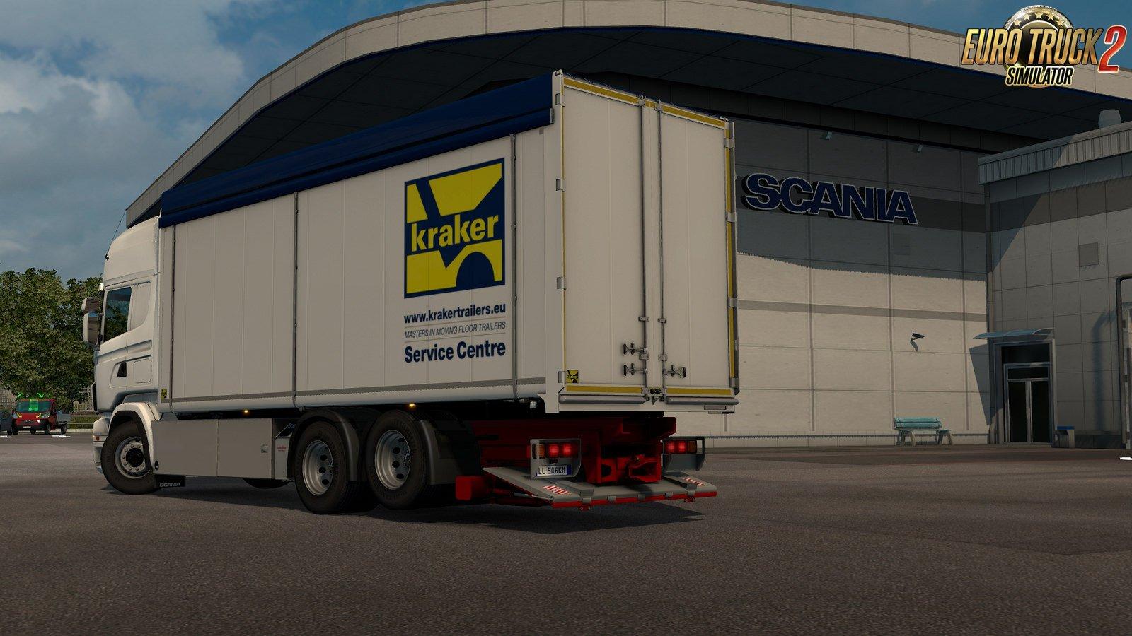 Kraker/NTM/Ekeri Tandem addon for RJL Scania rs&r4 v1.7 by Kast [1.31.x]