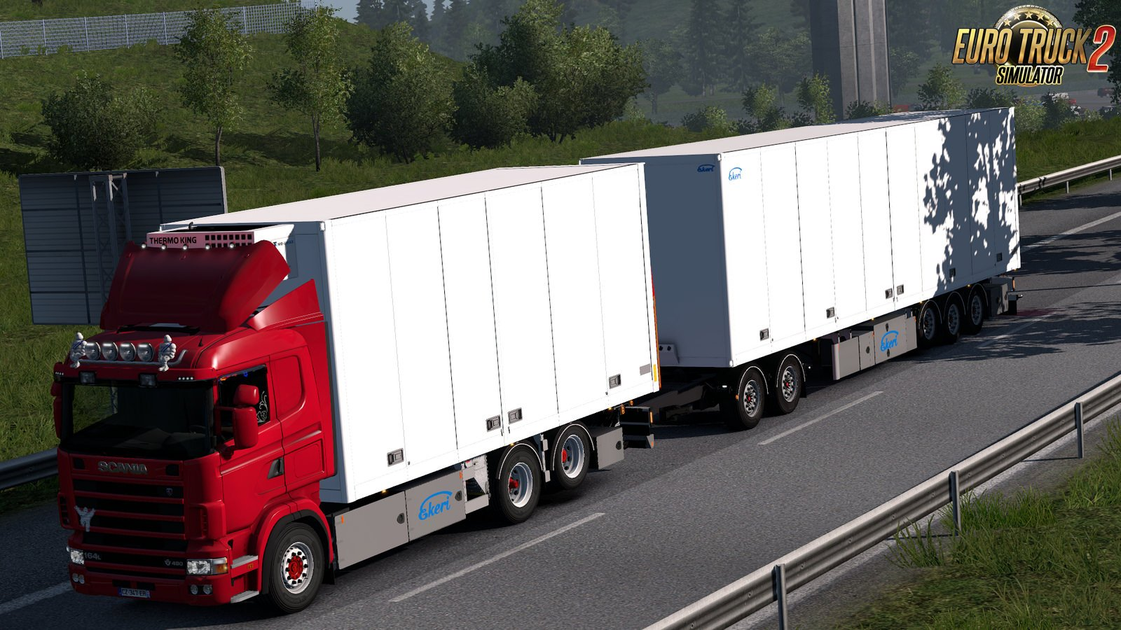 Tandem addon for RJL Scania RS and R4 v1.8.2 by Kast