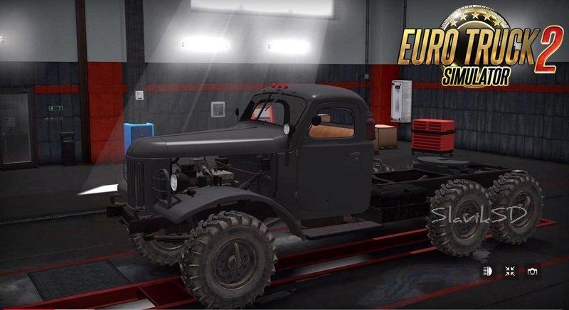 ZiL-157 Truck + Interior v1.4 (1.37.x)