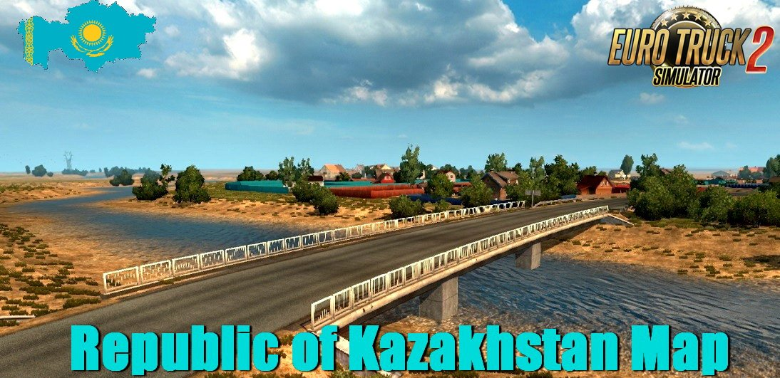 Republic of Kazakhstan Map v0.8 (1.32.x)