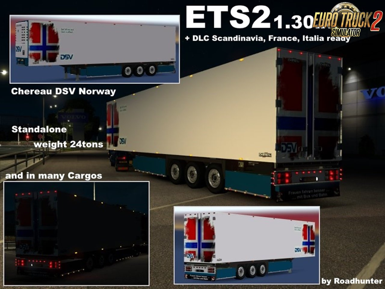 Chereau DSV Reefer v3 for Ets2