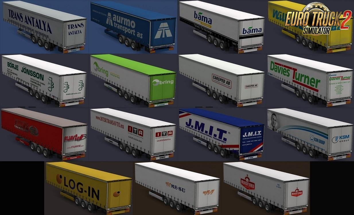 Real European Companies Trailers by Maryjm