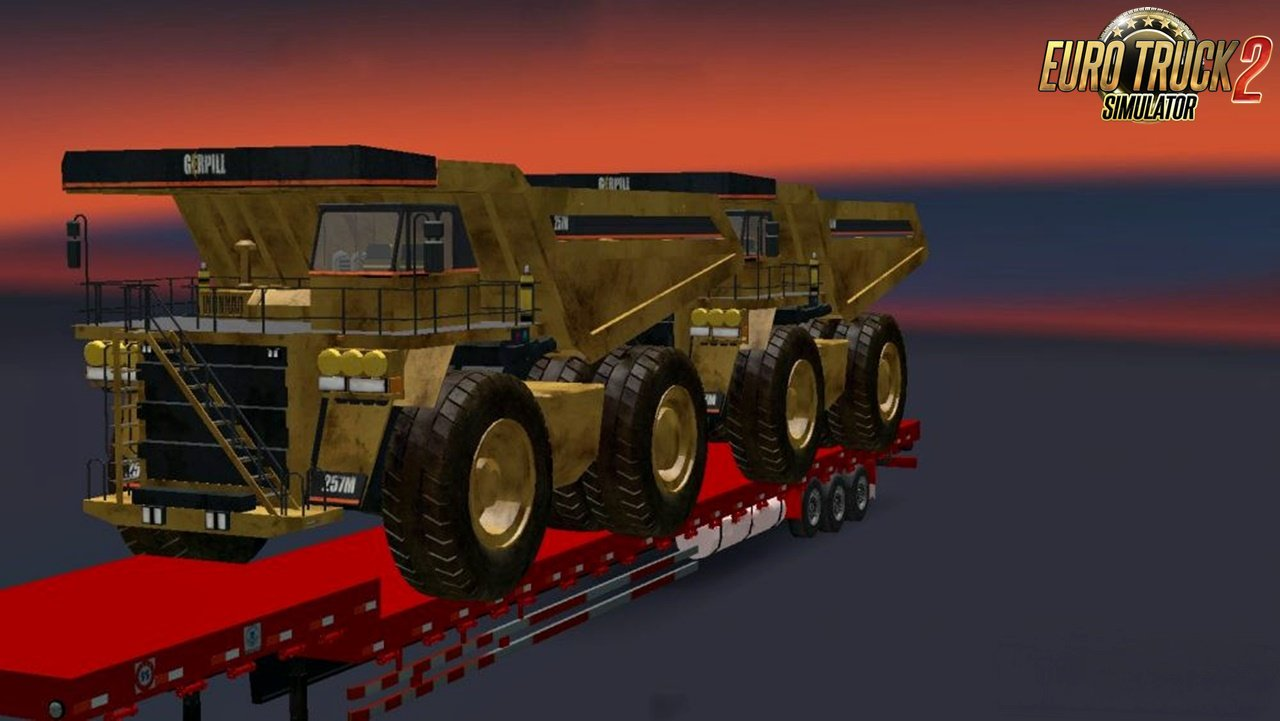 Bulldozer Trailer v1.0 by jane84