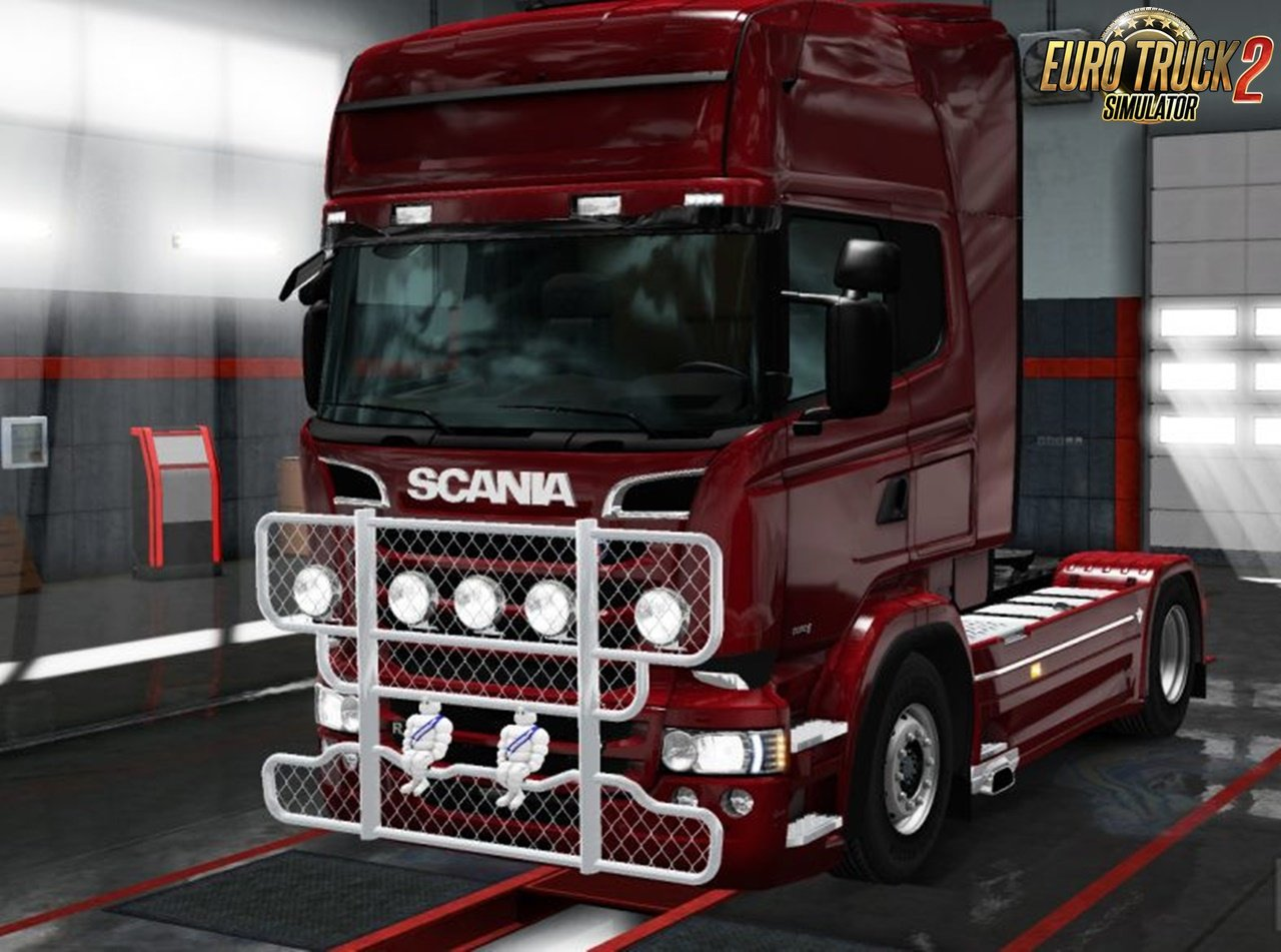 Wrecker Bullbar for Scania RJL [1.30.x]