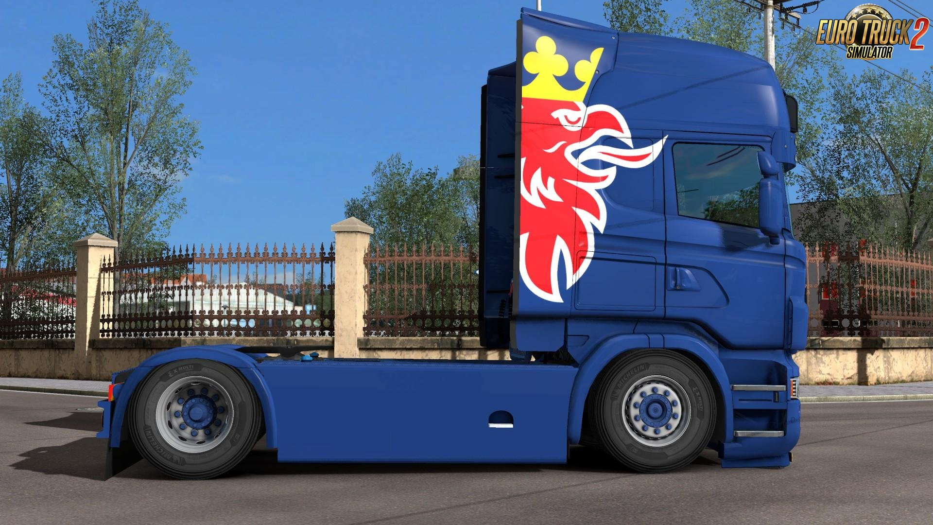 Scania R (RJL) - Simple Griffin Paintjob by l1zzy