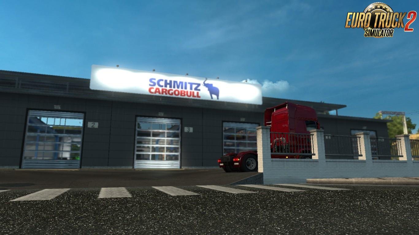 Schmitz Cargobull Garage Board for Ets2