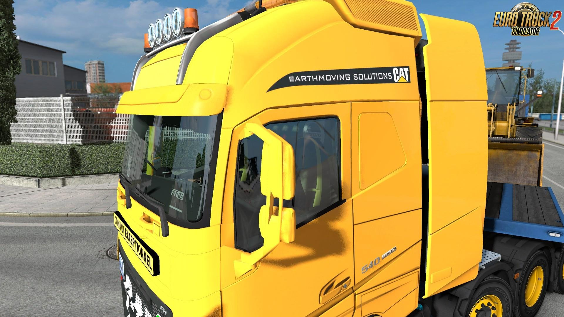 Volvo FH12 - Caterpillar Paintjob by l1zzy