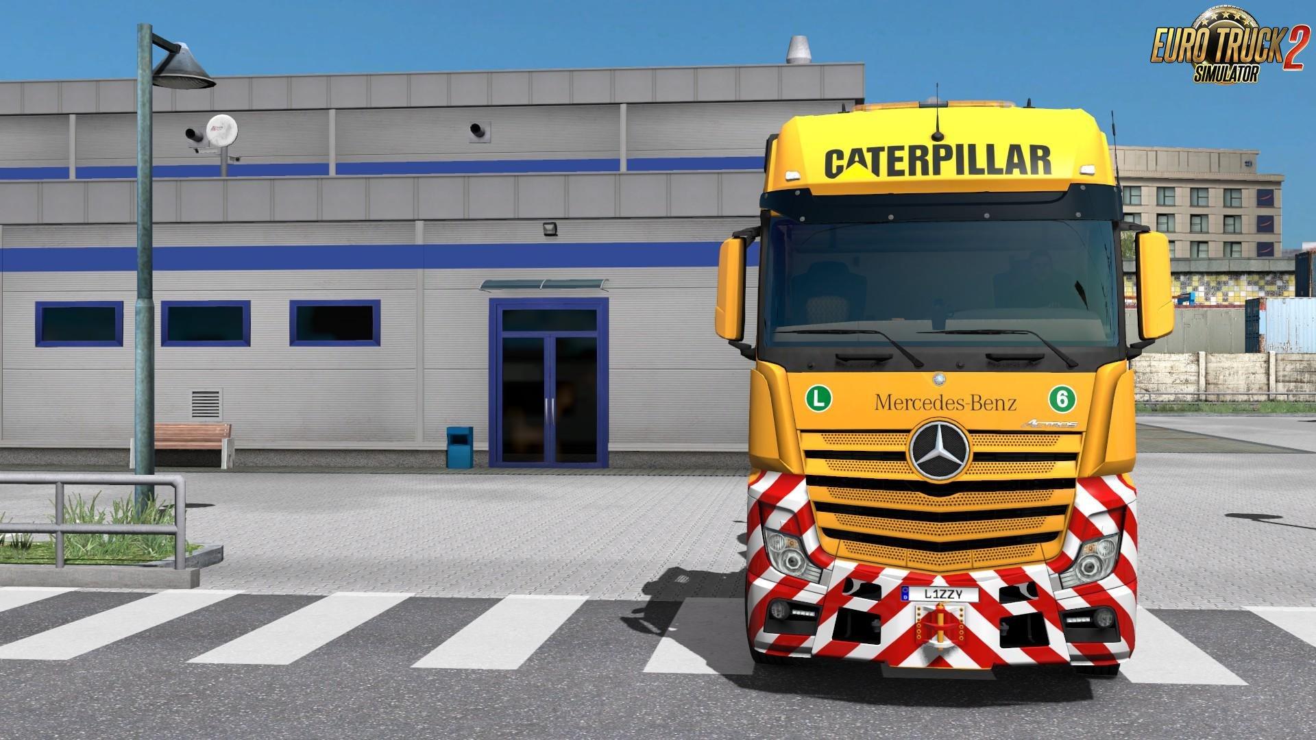 Mercedes-Benz 2014 - Caterpillar Paintjob by l1zzy