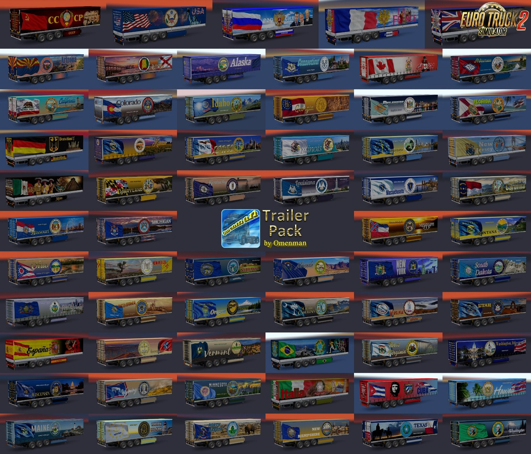 Trailer Pack v.1.15.00 by Omenman