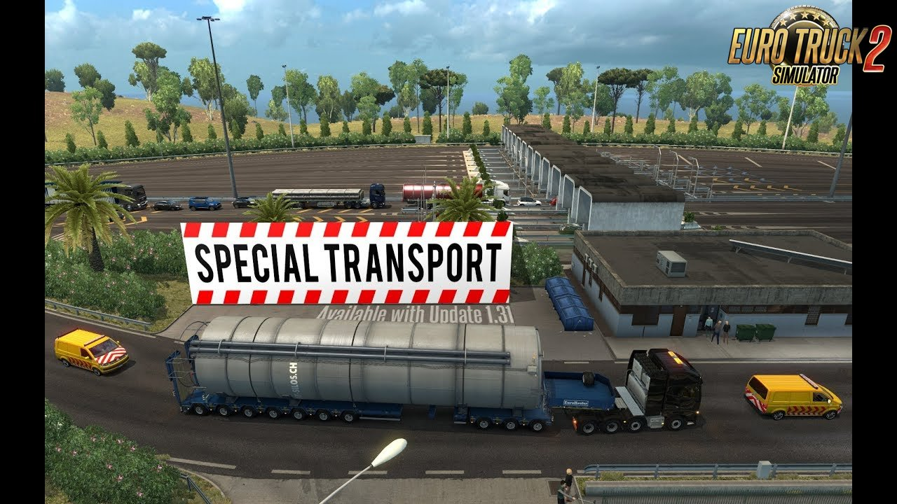 ETS2 Special Transport revisited