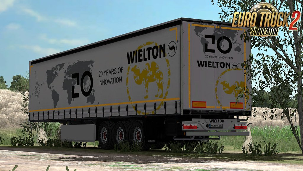 Trailer WIELTON NS3 K + Template