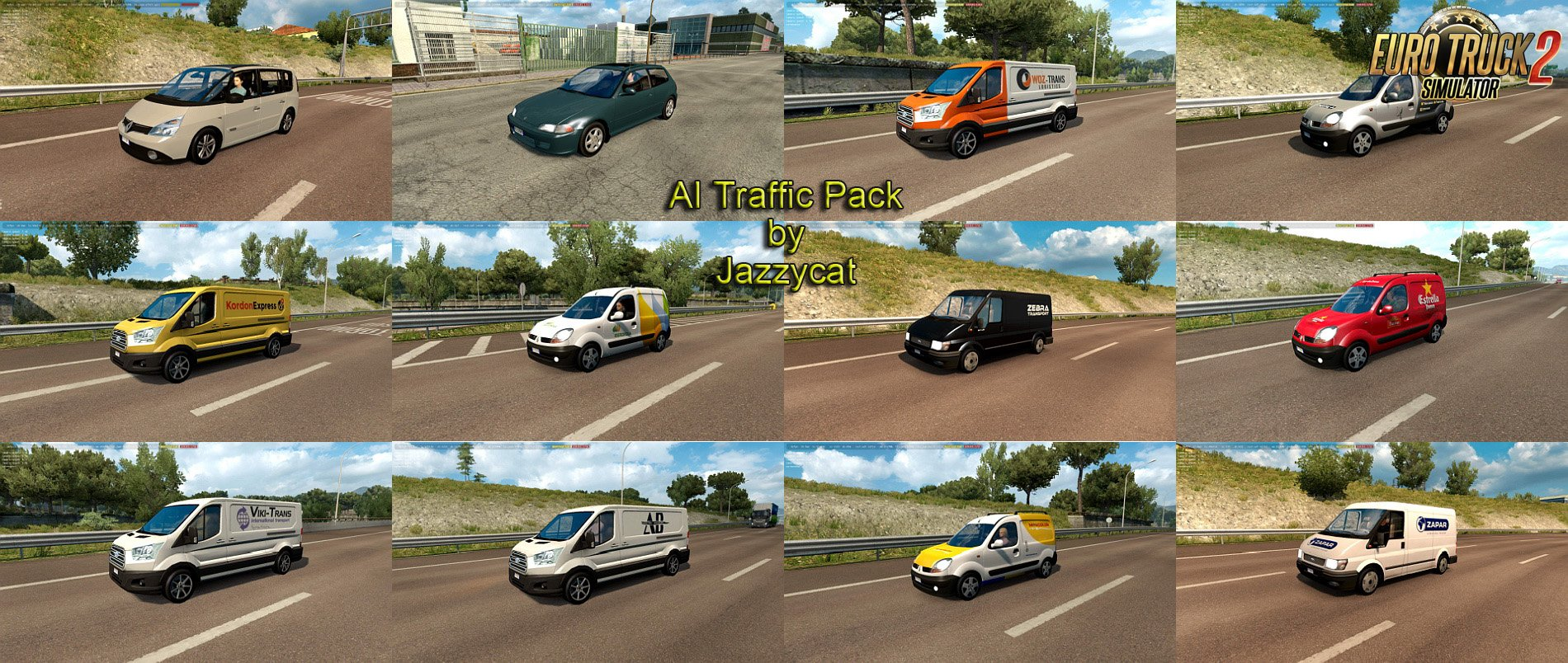 AI Traffic Pack v7.3 by Jazzycat