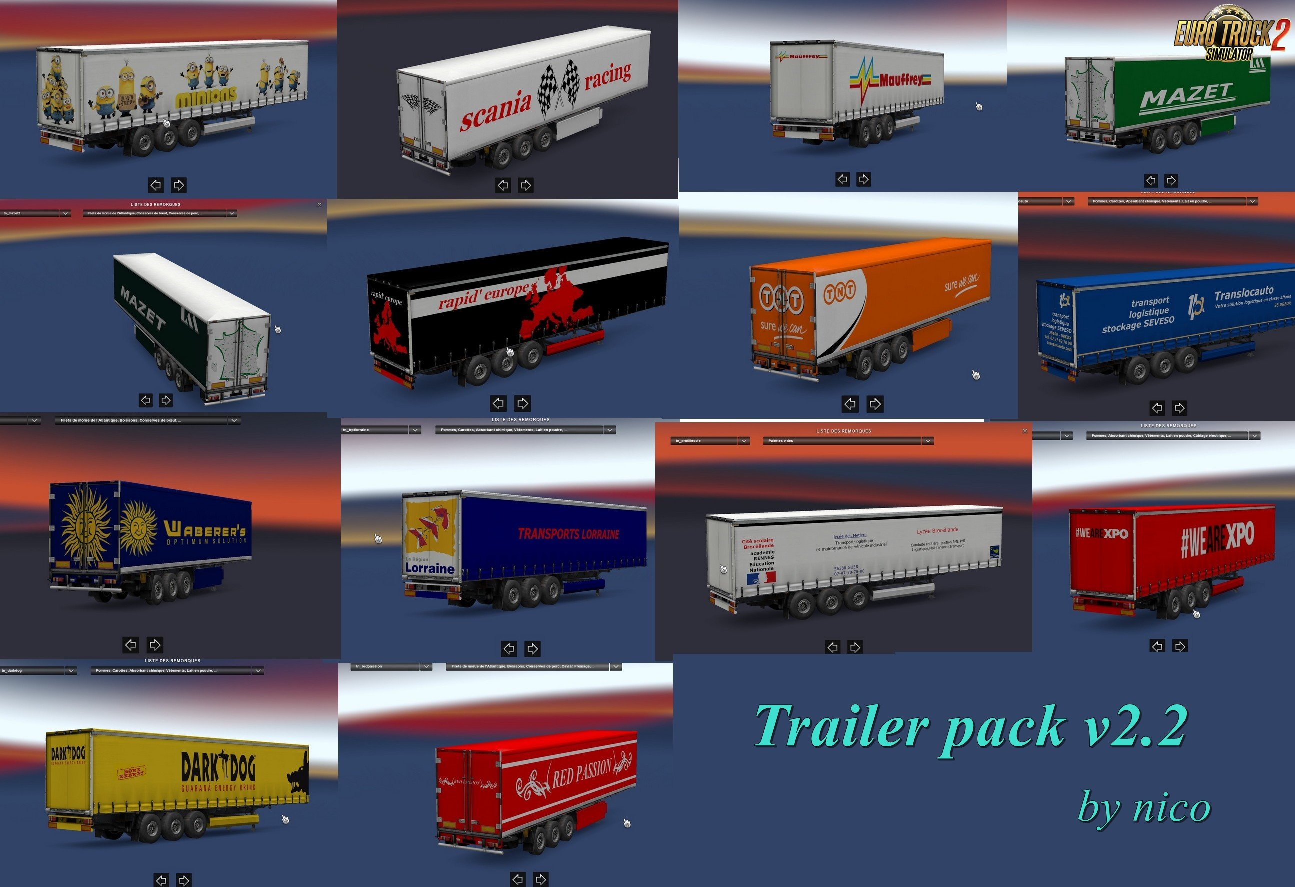 Trailer pack v2.2 by nico [1.31.x]