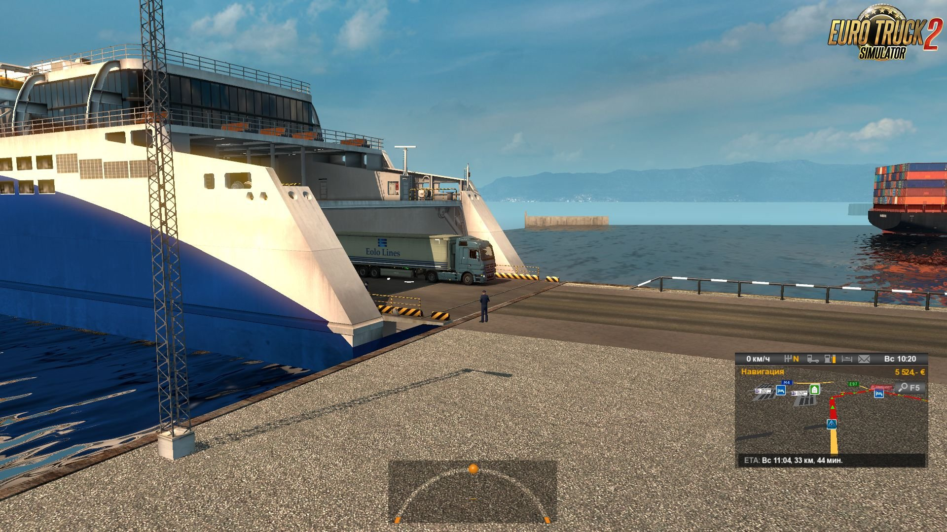 Southern Region 7.0 Ferry Connection: Novorossiysk-Messina for Ets2