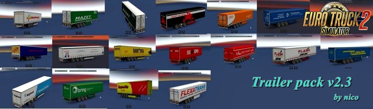 Trailer pack v2.3 by nico [1.31.x]