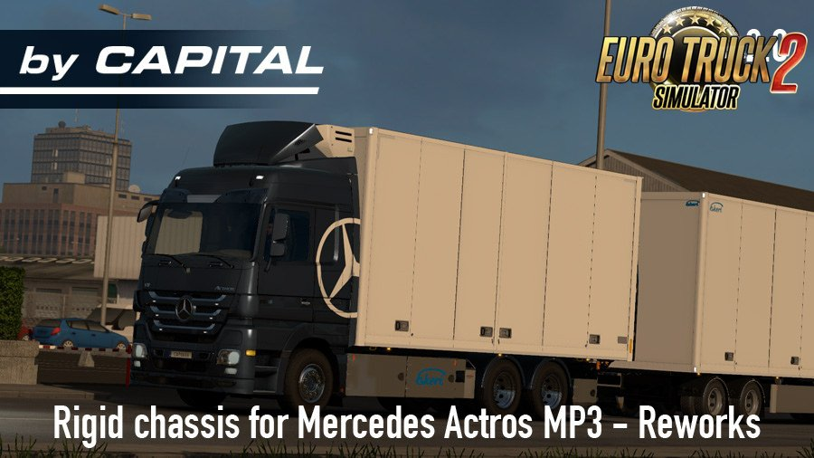 Rigid chassis addon for Mercedes Actros MP3 Reworks v2.0