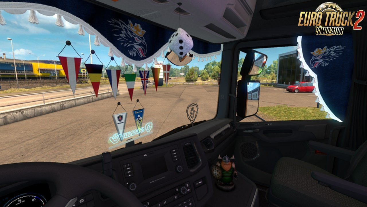 Animated Side Curtains for Scania Next Gen  v1.1 by oq37