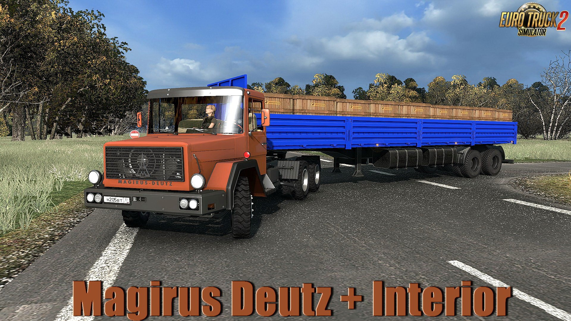 Magirus Deutz + Interior v1.0 от mTG (1.31.x)