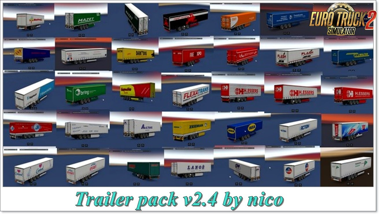Trailer pack v2.4 by nico [1.31.x]