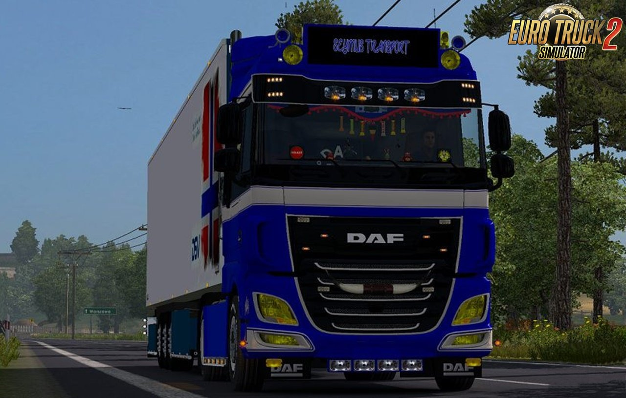 Yellow Lights for DAF