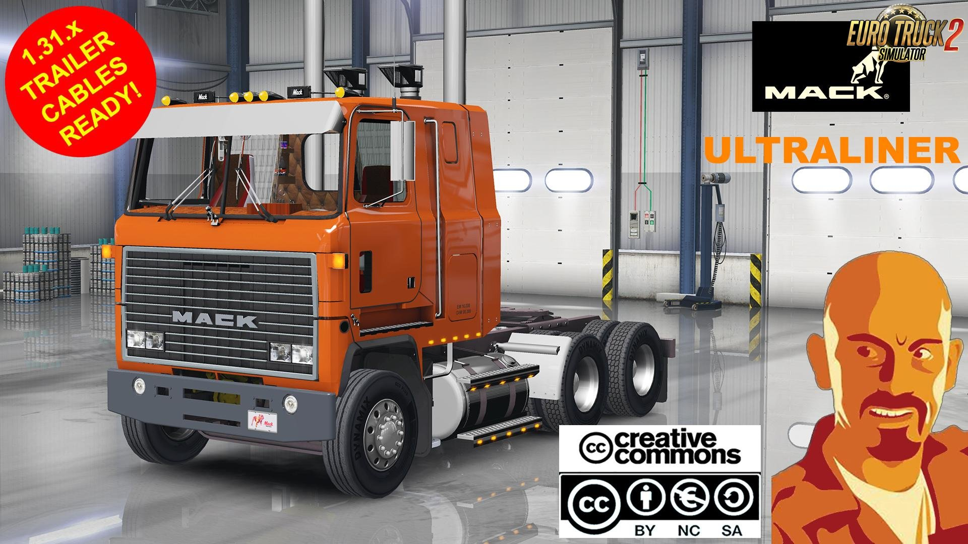 MACK ULTRALINER for Ets2 1.31.x