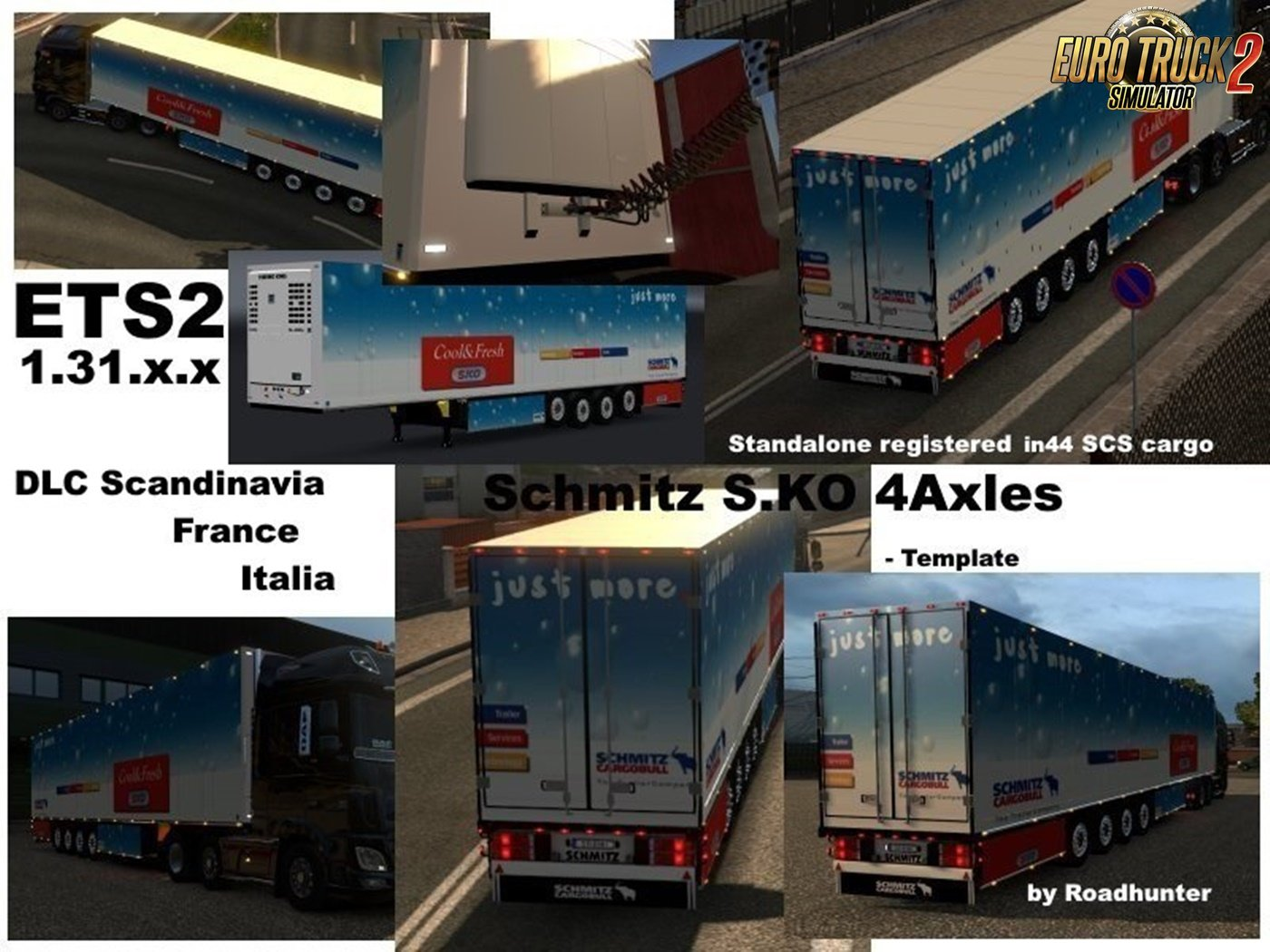 Schmitz Cargobull S.KO 4axles Reefer v1.3 [1.31.x]