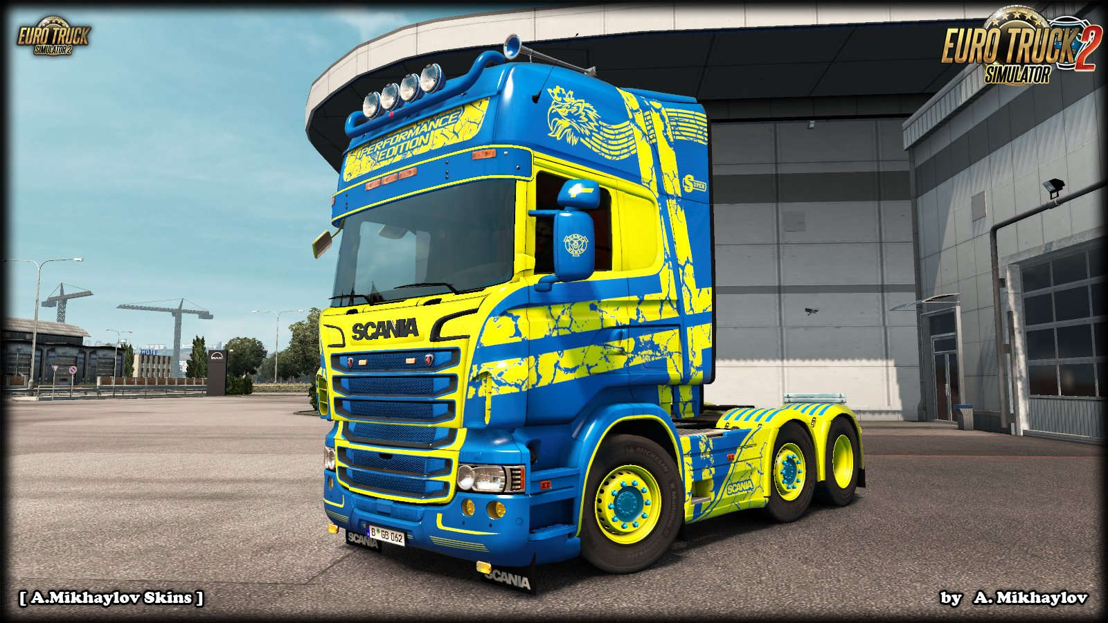 Scania Topline T-Series by RJL Perfomance Edition Repaintable Skin v1.0 (1.31.x)