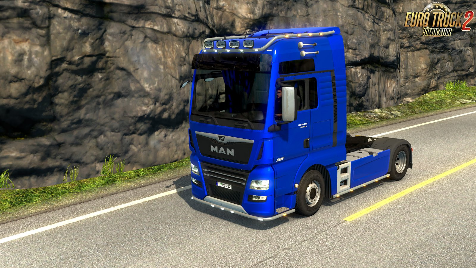 Fix for MAN TGX Euro 6 v2.1 by MADster (1.32 beta)