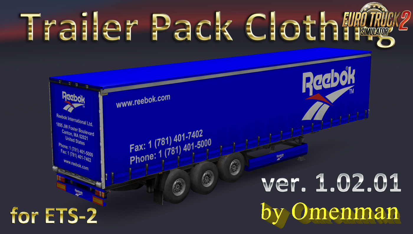 Trailer Pack Clothing v.1.02.01 for Ets2