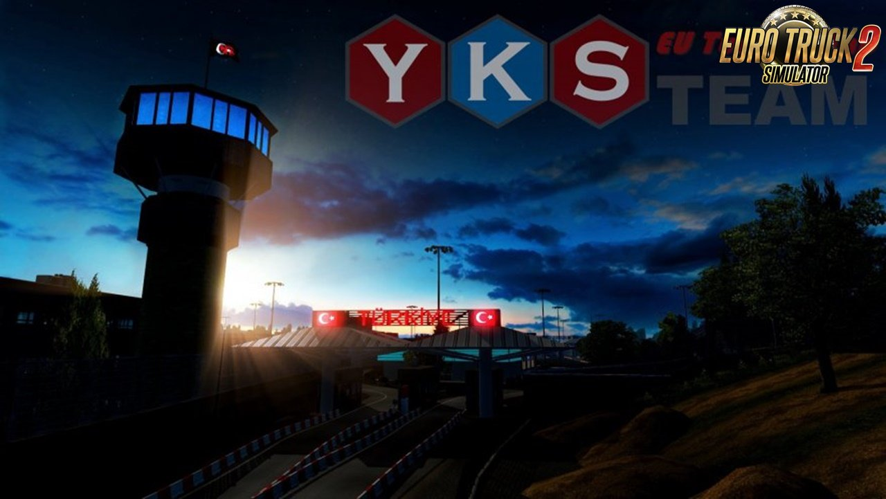 YKS Team Eu Turkey Map for Ets2 [1.31.x]