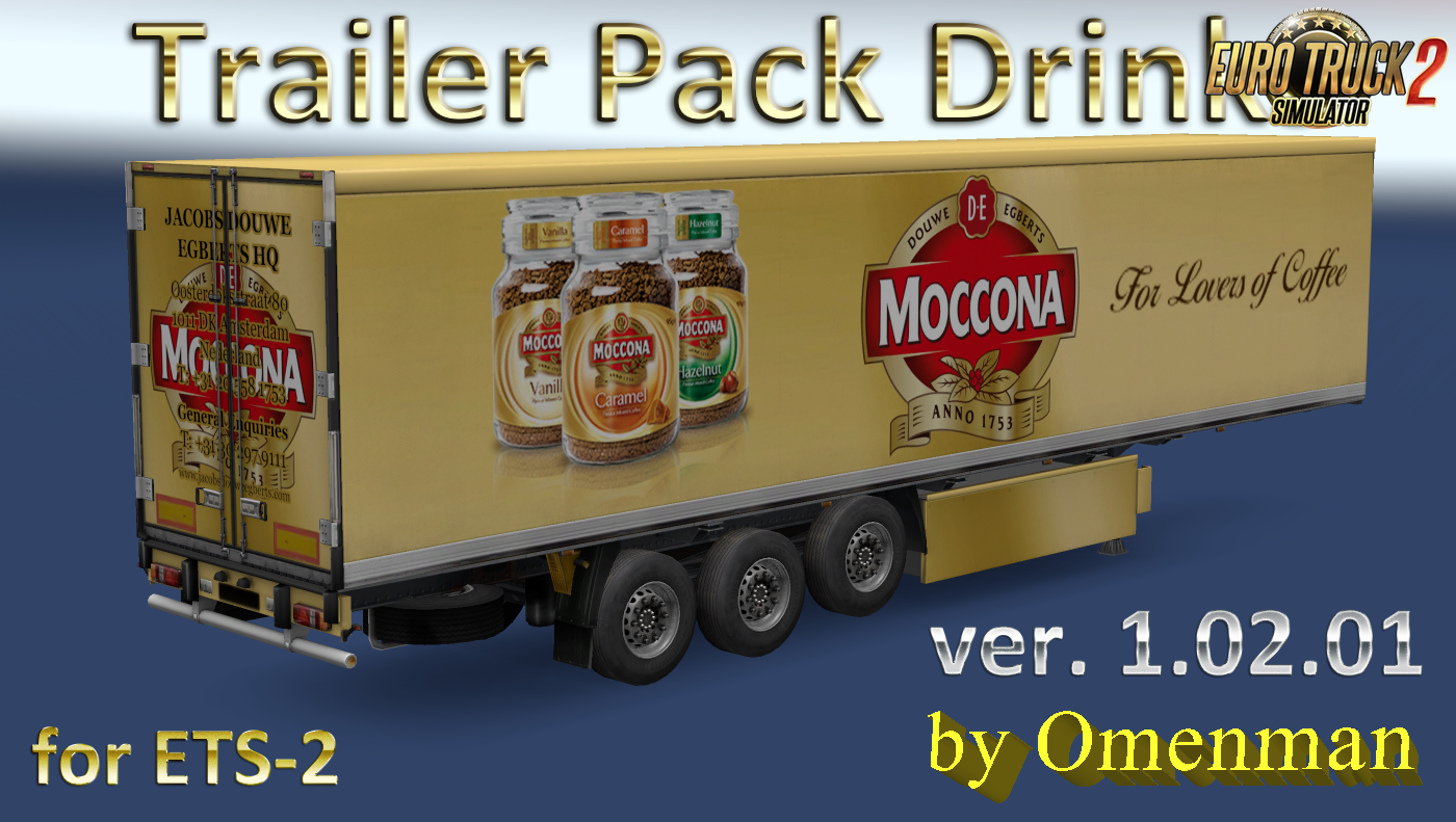 Trailer Pack Drinks v.1.02.01 for Ets2