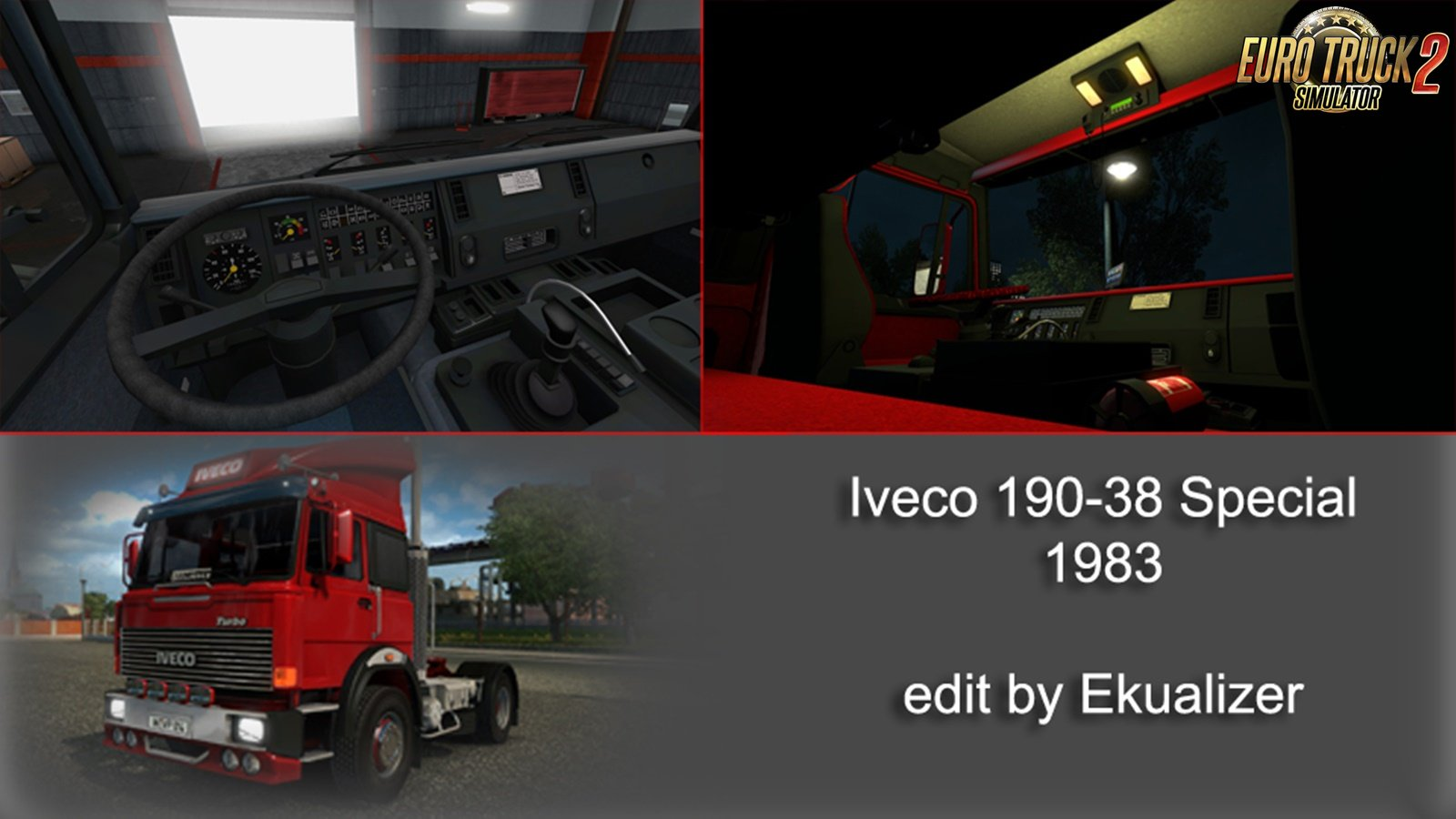 Iveco 190-38 Special + Interior v2.0 Edit by Ekualizer (1.32.x)