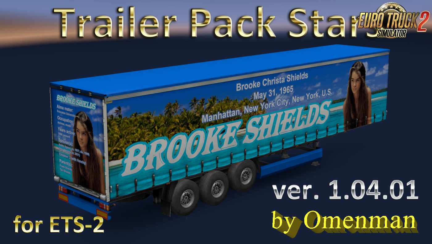 Trailer Pack Stars v.1.04.01 for Ets2