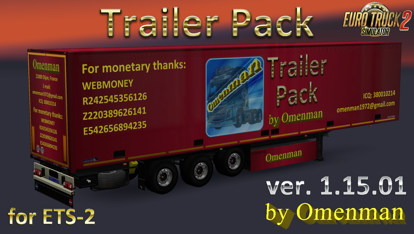 Big Trailer Pack by Omenman v.1.15.01