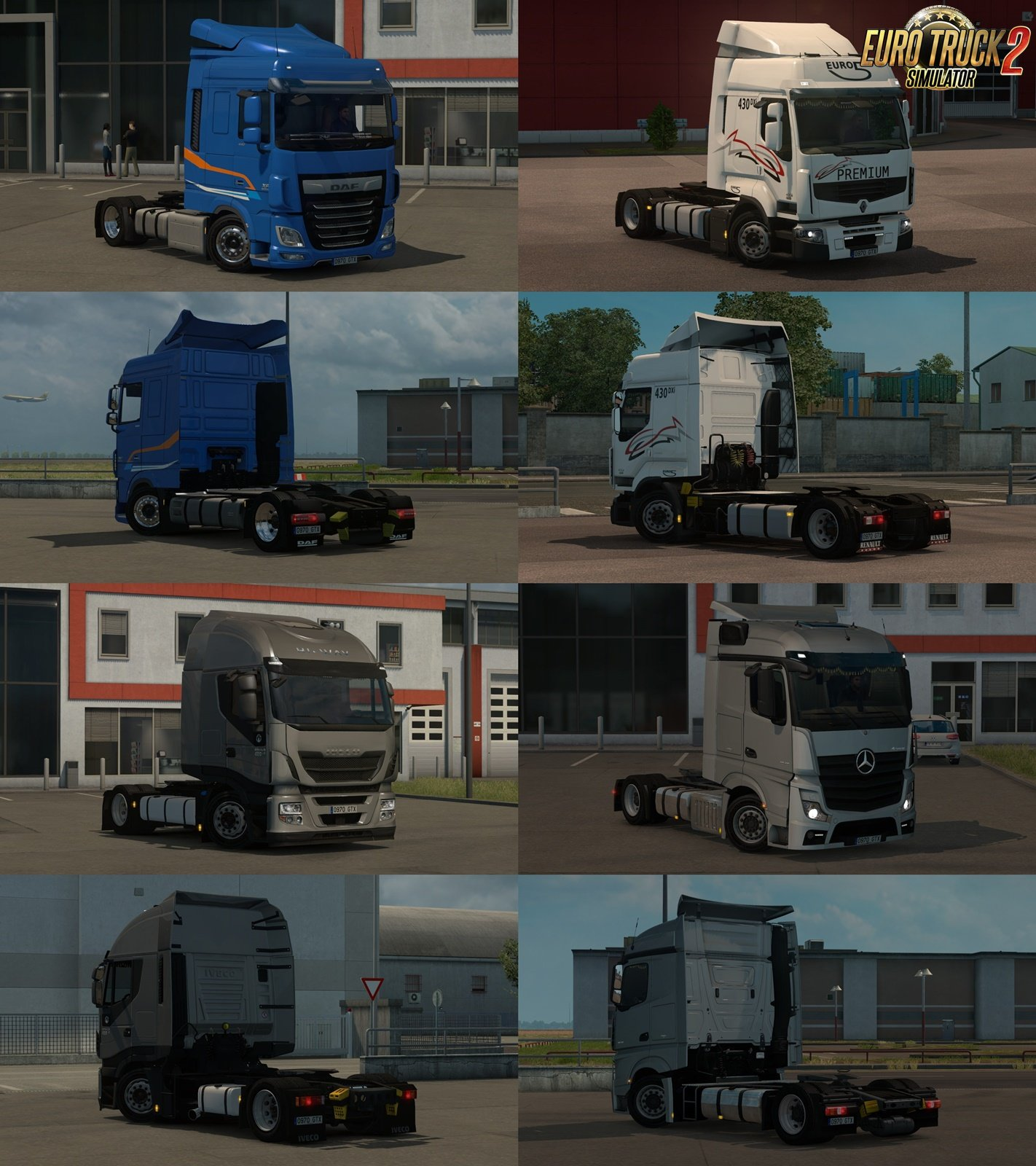 Low deck chassis addons for Schumi's trucks v1.8.1 by Sogard3