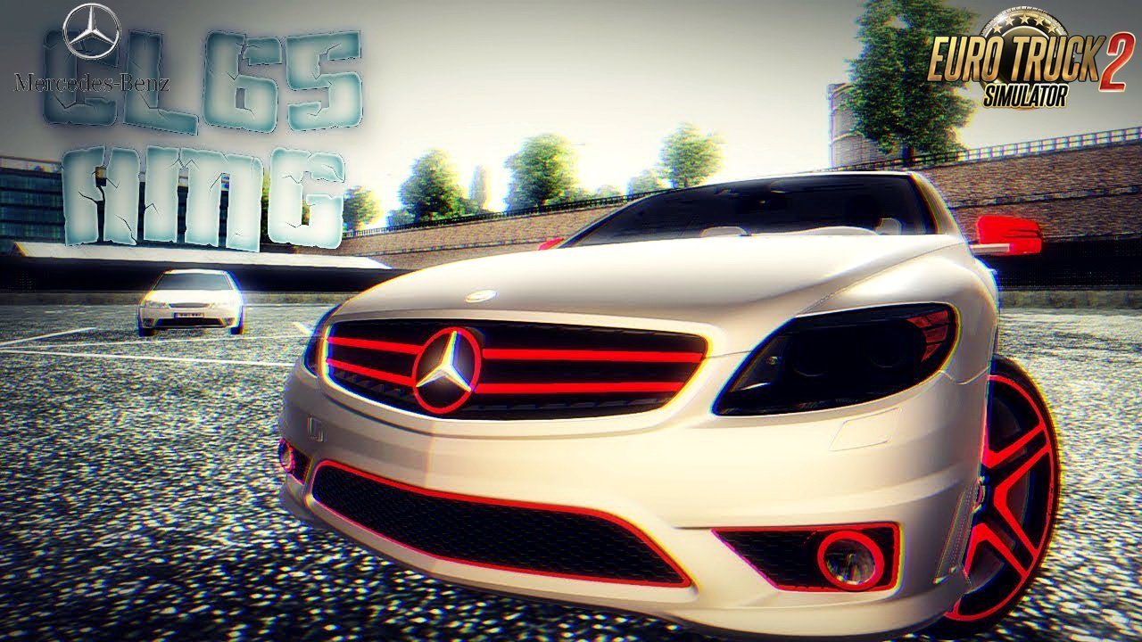 Mercedes-Benz CL65 AMG + Interior v1.0 (1.31.x)