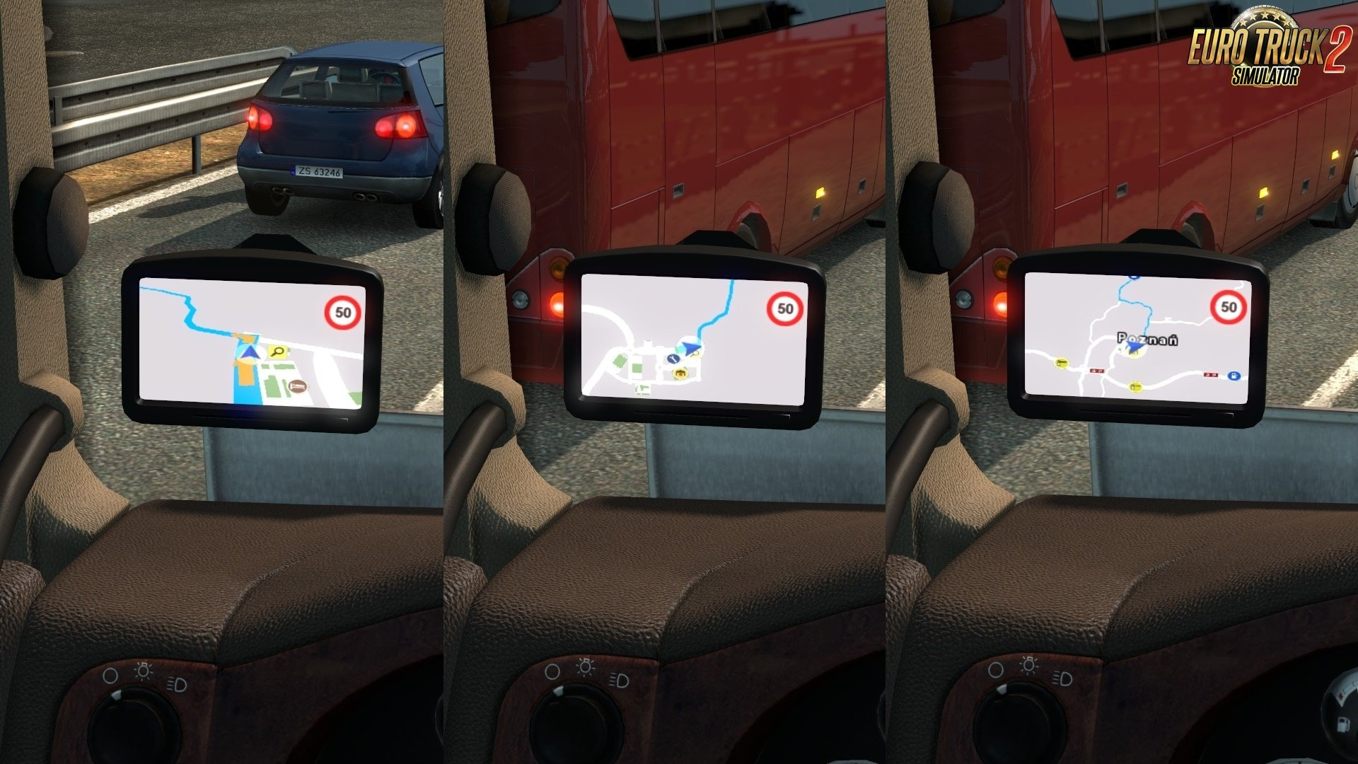 Google Maps Navigation for ProMods v1.4