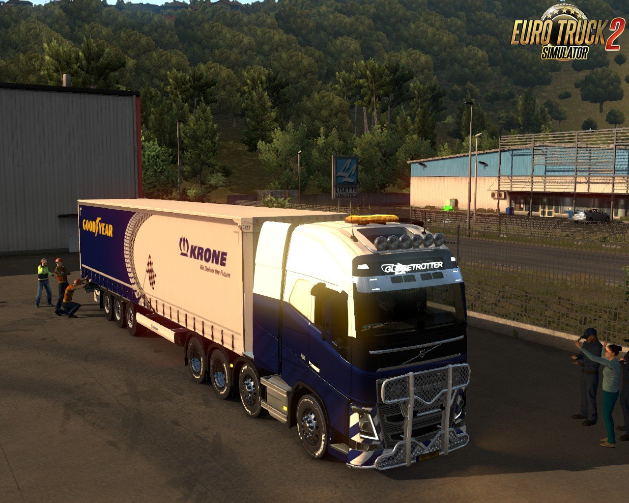 Special Transport! GOODYEAR! Truck Racing Accessories! for Ets2