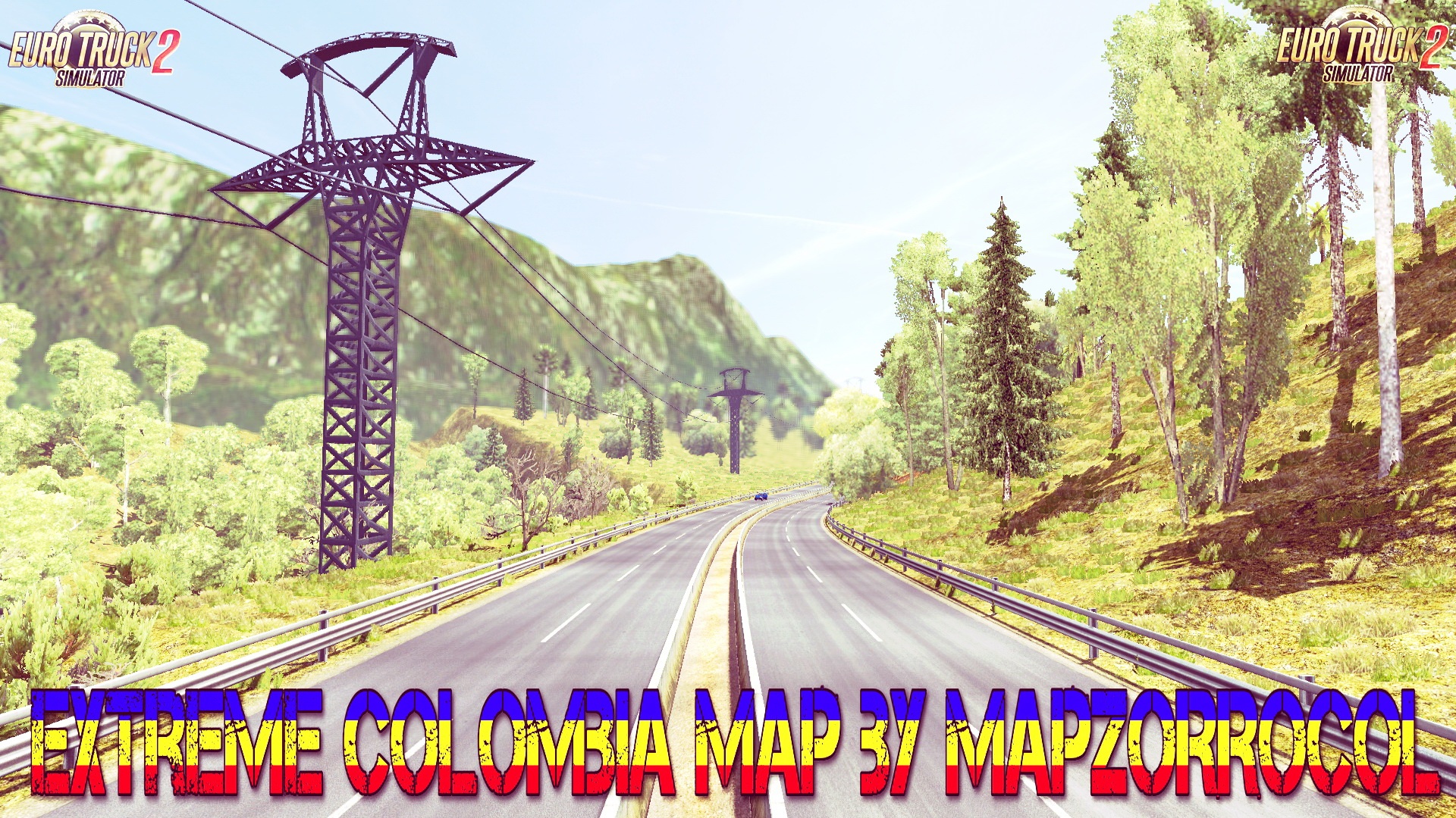 Extreme Colombia Map v2.1.1 by MAPZORROCOL (1.31.x)